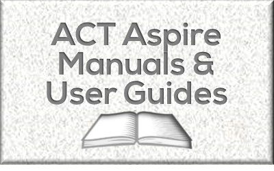 Manuals & User Guides for ACT Aspire