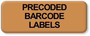 Precoded Barcode Labels