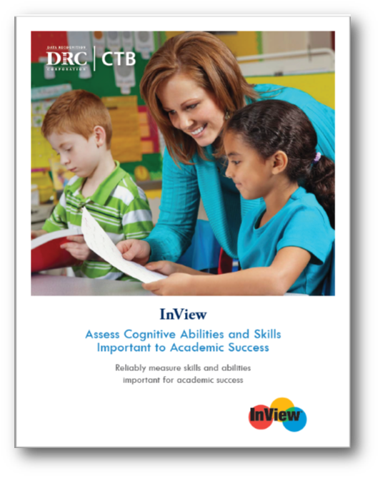 InView:  Assess Cognitive Abilities and Skills Important to Academic Success