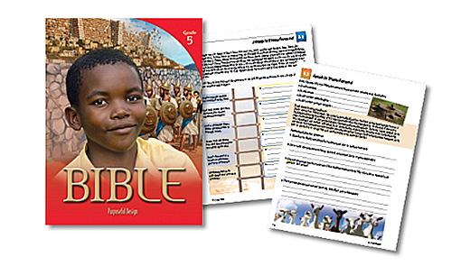 PDP Bible:  Elementary Grade 5 Student Edition