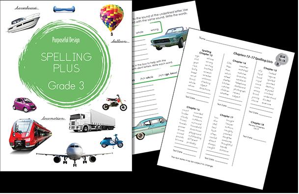 Spelling Plus Grade 3 Student Edition