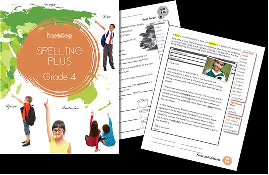 Spelling Plus Grade 4 Student Edition
