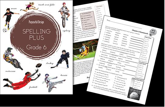 Spelling Plus Grade 6 Student Edition