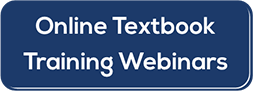 Textbook Training Webinars