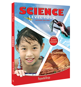 PDP Science:  Elementary Level 4 Student Notebook
