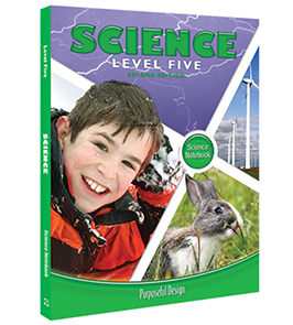 PDP Science:  Elementary Level 5 Student Notebook