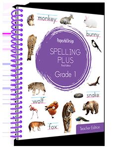 Spelling Plus Grade 1 Teacher Edition