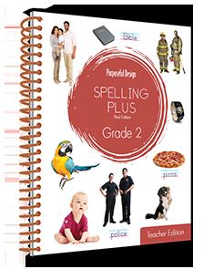 Spelling Plus Grade 2 Teacher Edition