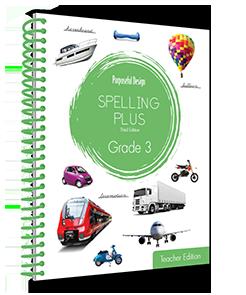 Spelling Plus Grade 3 Teacher Edition