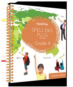 Spelling Plus Grade 4 Teacher Edition
