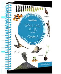 Spelling Plus Grade 5 Teacher Edition