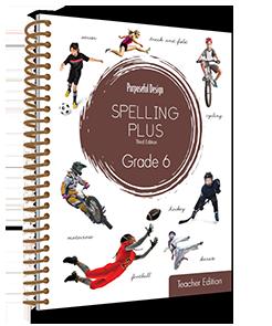 Spelling Plus Grade 6 Teacher Edition