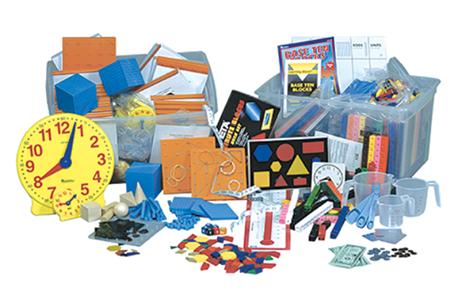 PDP Math:  Elementary Math Manipulatives Kit