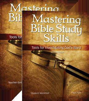 PDP High School Bible:  Mastering Bible Study Skills
