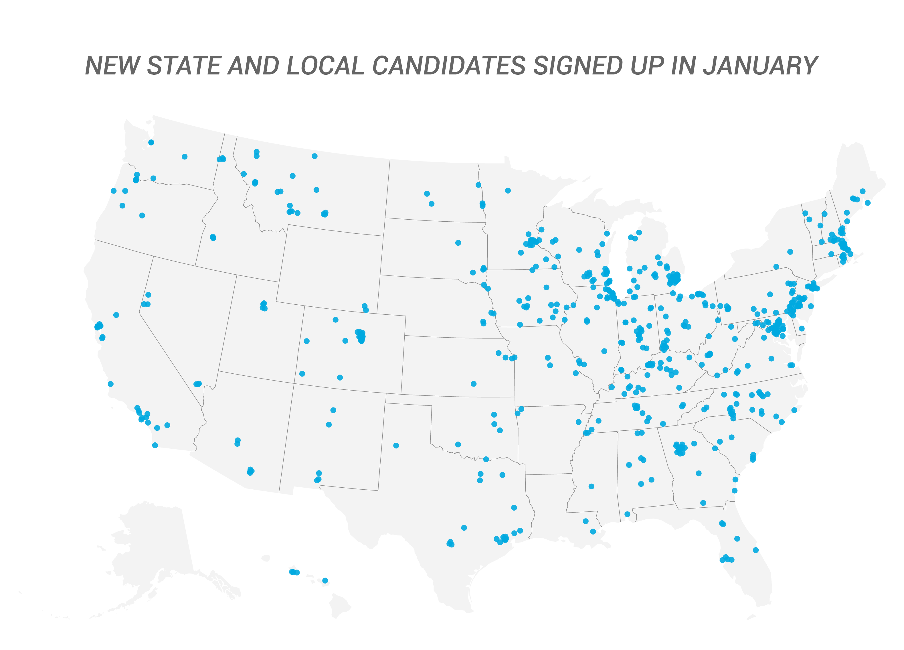 New State and Local Candidates Signed Up in January