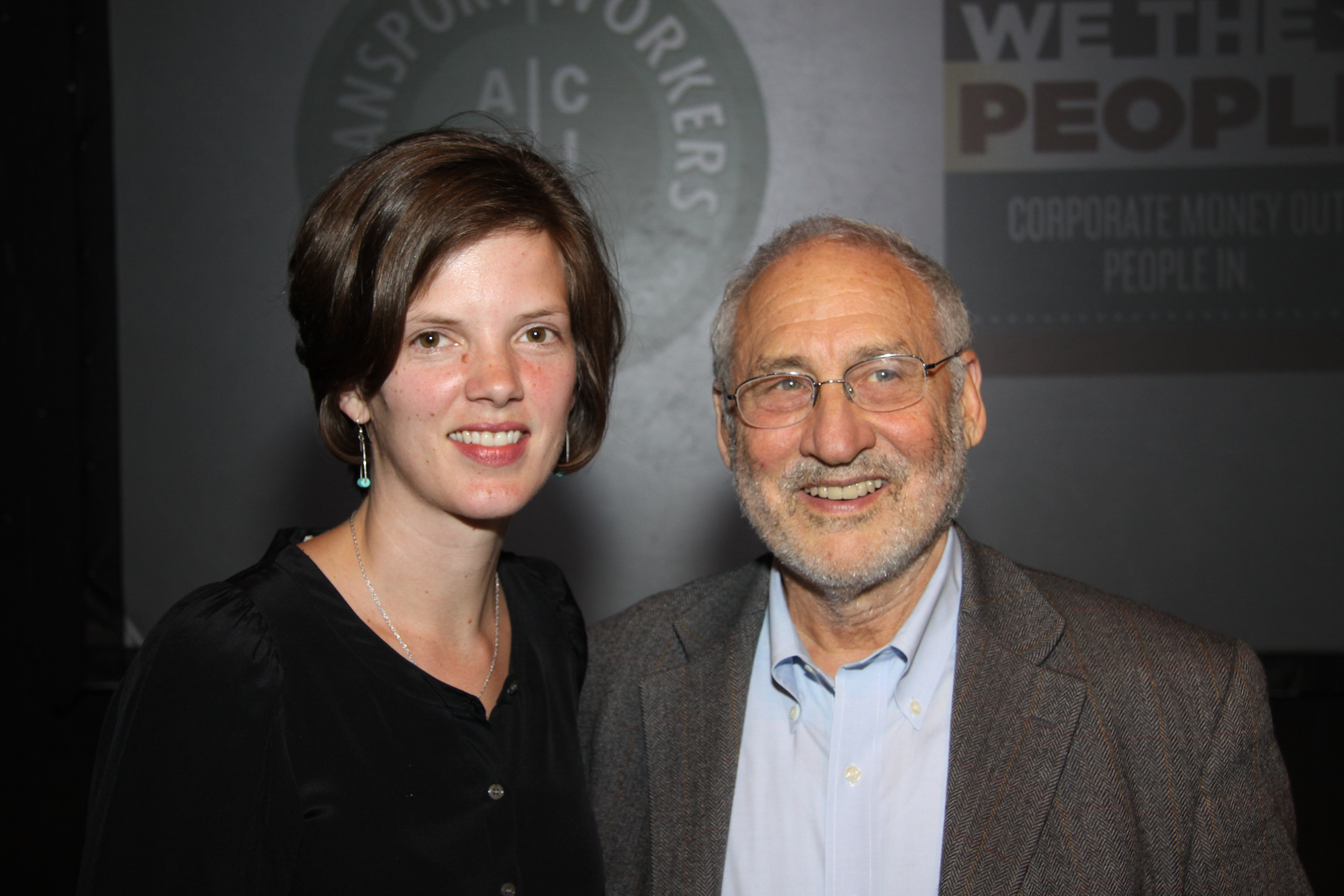 Kathleen Thompson and Joseph Stiglitz