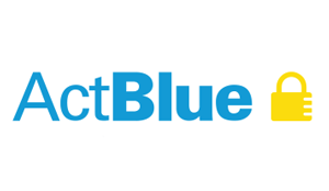 Actblue Badge Plain 150px