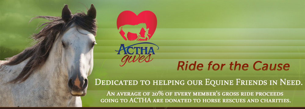 Ride for the Cause, ACTHA gives