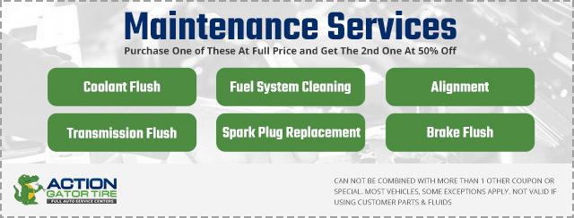 action gator tire service center coupon