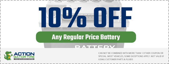 10% Off Battery Special Coupon