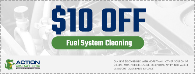Fuel System Cleaning Coupon