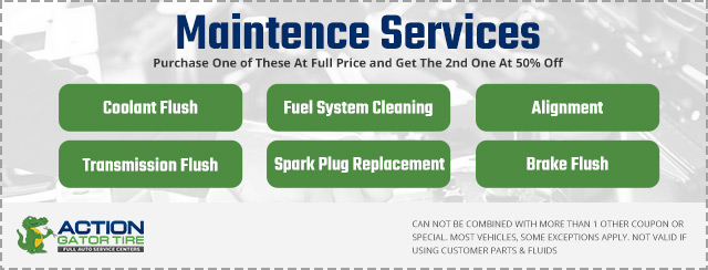 action gator tire maintenance services coupon