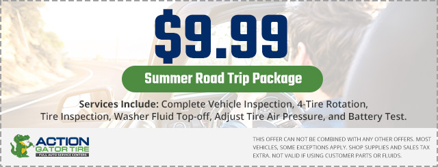 action gator tire summer road trip package coupon