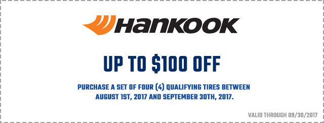 hankook tires coupon 100 dollars off action gator tire