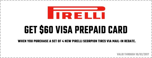 Get $60 Visa Prepaid Card Coupon
