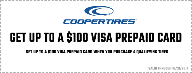 Get up to a $100 Visa Prepaid Card Coupon