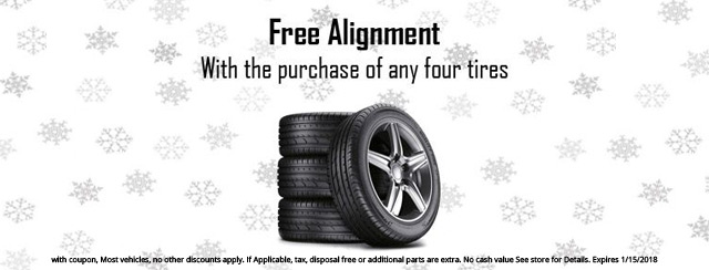 Free Alignment Coupon