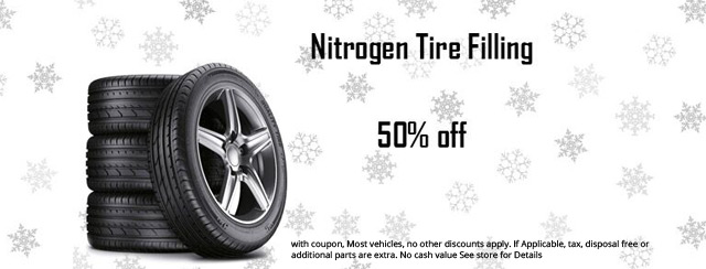 Nitrogen Tire Filling Coupon