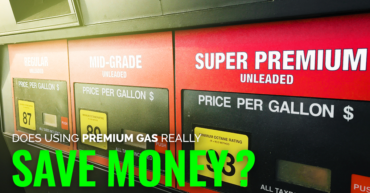 Can Using Premium Gas Really Save You Money?