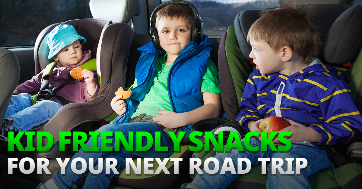 Check out the best road trip snacks for kids!