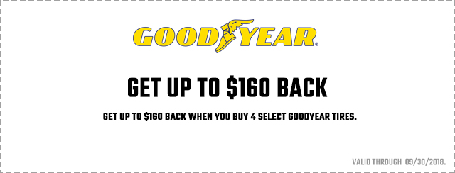 Goodyear High-Flying Savings Coupon