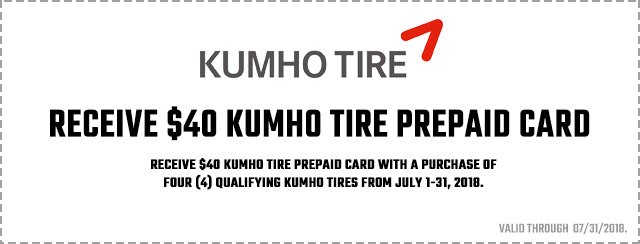 Kumho Summer Promotion 2018 Coupon