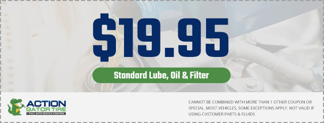 19.95 Standard Oil Change Coupon