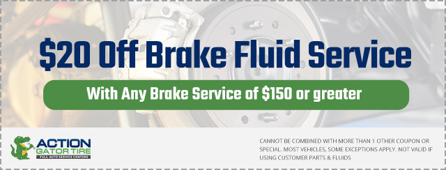 $20 off Brake Fluid Service Coupon