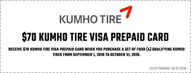 Kumho Ecsta PA51 Launch Promotion 2018 Coupon