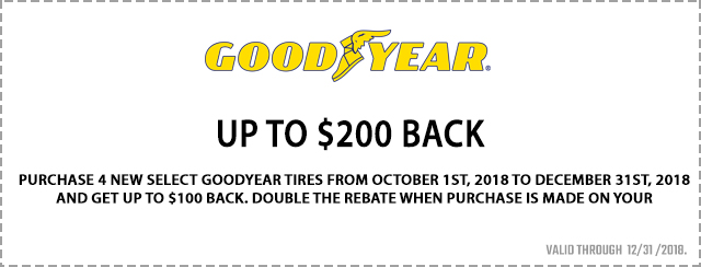 Up to $200 back Coupon