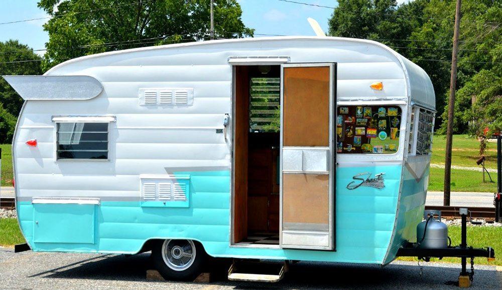 Antique-travel-trailer