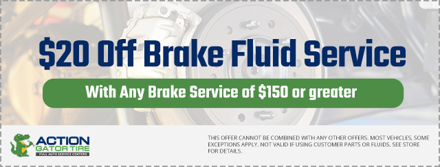 $20 off Brake Fluid Service Offer