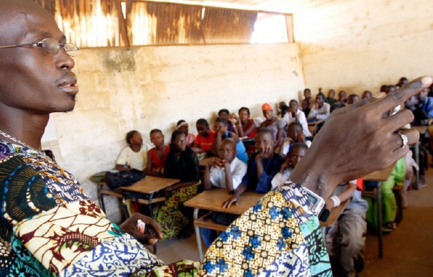<p>Quadruple spending on education in the world's 47 poorest countries.</p>