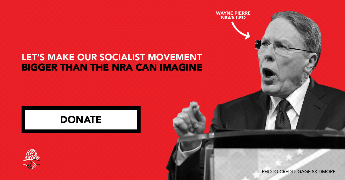 Democratic Socialists of America — Donate via ActBlue