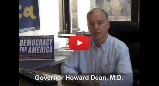 After an incredibly successful four years as DNC chair, Howard Dean returns to kick off our campaign for a public option.