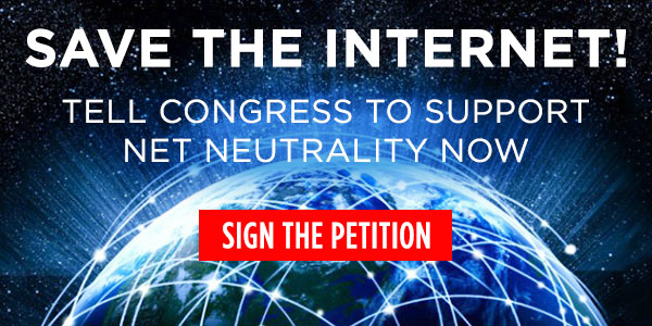 Thanks to the advocacy of millions of Americans, including tens of thousands of DFA members, the FCC voted to protect Net Neutrality