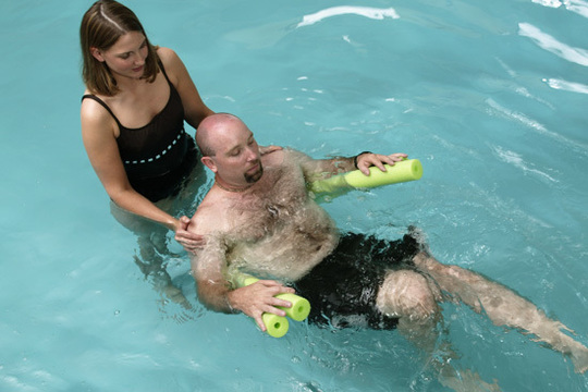 Picture of the Aquatic Therapy's service