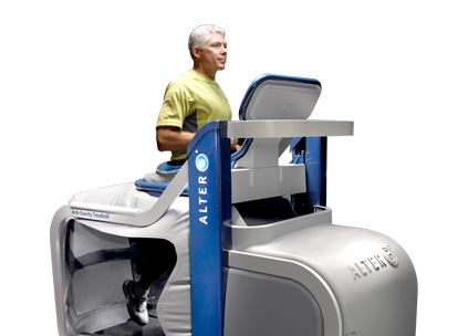 Picture of the AlterG Anti-Gravity Treadmill's service