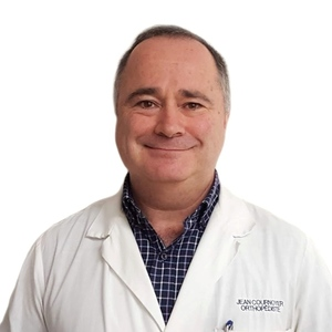 Picture of Cournoyer Jean Orthopaedics expert in the Saint-Leonard's clinic