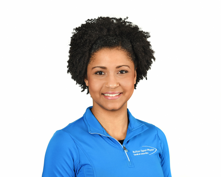 Picture of Lafontant Erica Physiotherapy expert in the Town-of-Mount-Royal's clinic